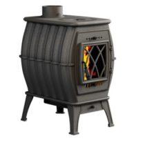 Чугунная отопительная печь